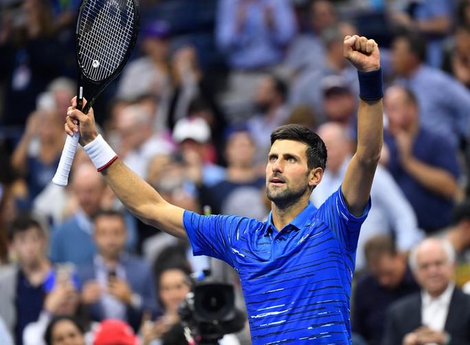 Djokovic san bằng thành tích 71 trận thắng tại Grand Slam của Pete Sampras - Ảnh 4.