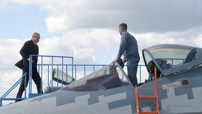 Thổ Nhĩ Kỳ cân nhắc mua S-57 thay thế F-35 - Ảnh 1.