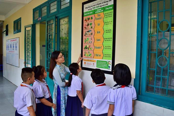 Lào Cai chuẩn hóa thực đơn bán trú bằng phần mềm - Ảnh 3.
