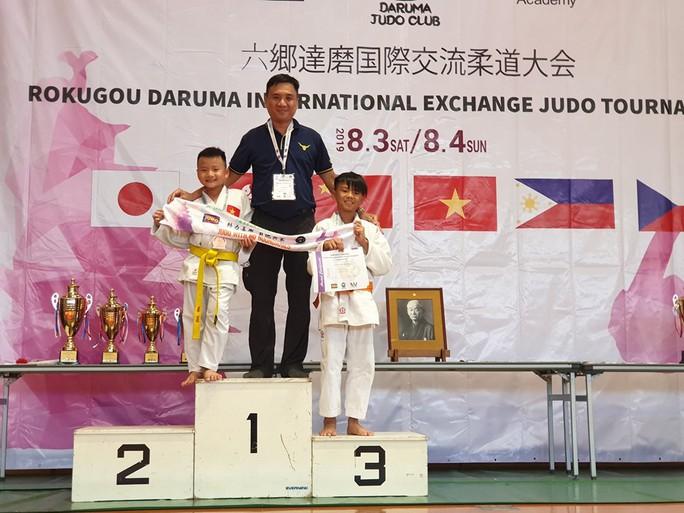 Judo thiếu nhi Việt Nam có thêm 11 HCĐ quốc tế