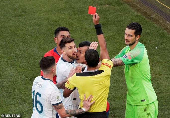 CONMEBOL tăng tiền phạt 34 lần, cấm Messi thi đấu hết năm - Ảnh 3.