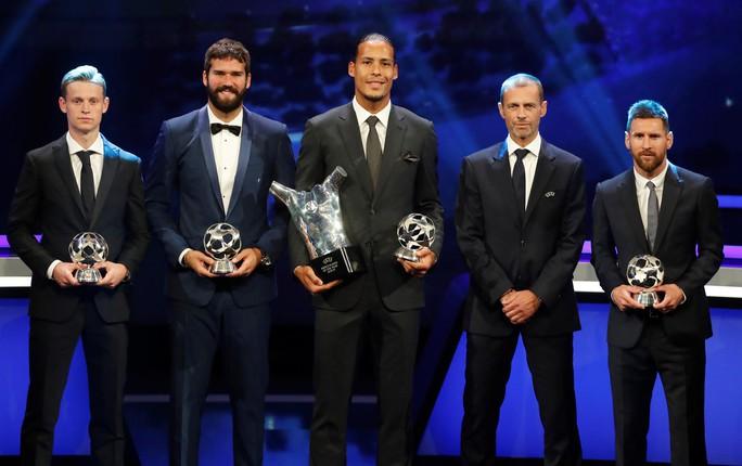 Van Dijk xuất sắc nhất châu Âu, Messi và Ronaldo lại thất bại - Ảnh 6.