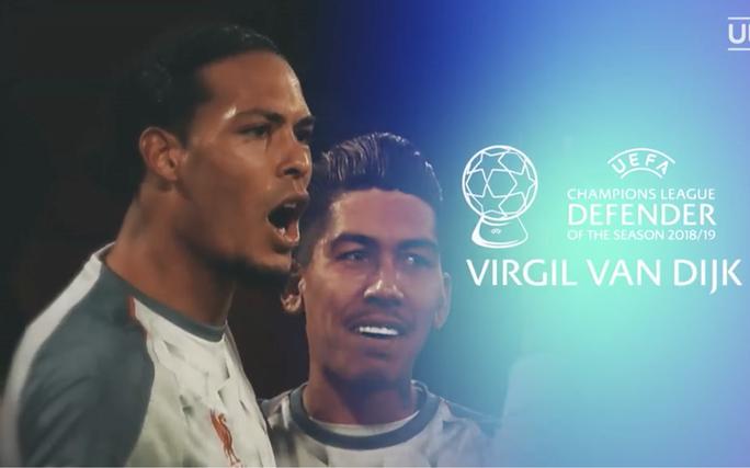 Van Dijk xuất sắc nhất châu Âu, Messi và Ronaldo lại thất bại - Ảnh 2.