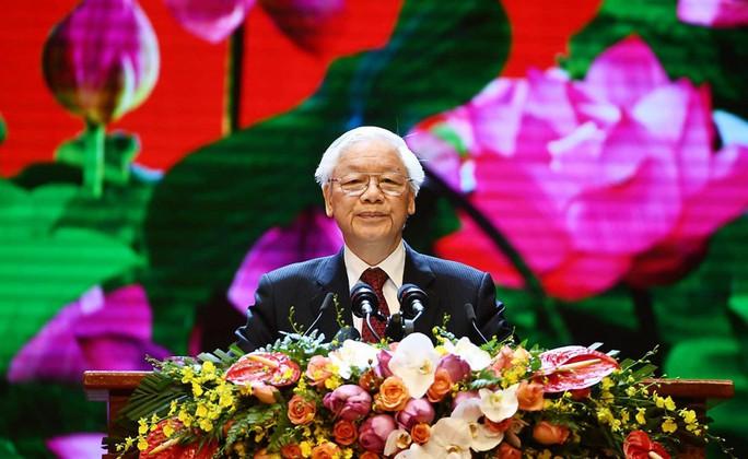 Tổng Bí thư, Chủ tịch nước có bài phát biểu cảm động tại Lễ Quốc gia 50 năm thực hiện Di chúc Bác Hồ - Ảnh 4.