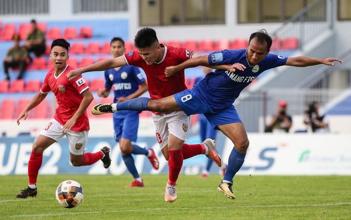 Hồng Lĩnh Hà Tĩnh giành vé lên V-League, Phố Hiến tranh suất play-off - Ảnh 1.
