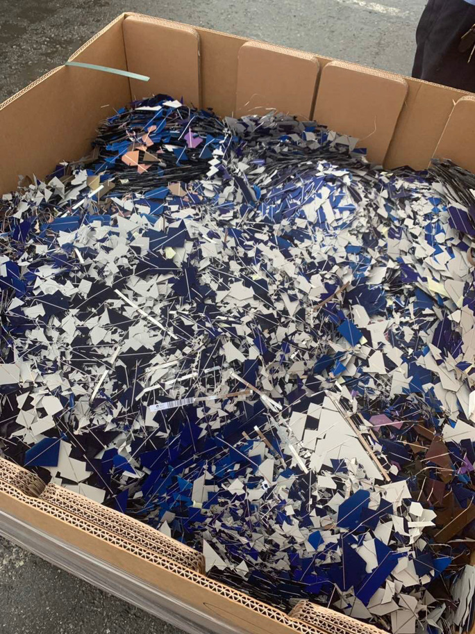 Liên tục chặn rác thải phế liệu tuồng vào Việt Nam - Ảnh 1.
