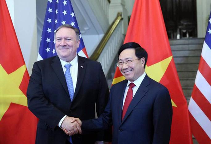 Ngoại trưởng Pompeo đánh giá cao thành tựu trong quan hệ Việt-Mỹ   - Ảnh 1.
