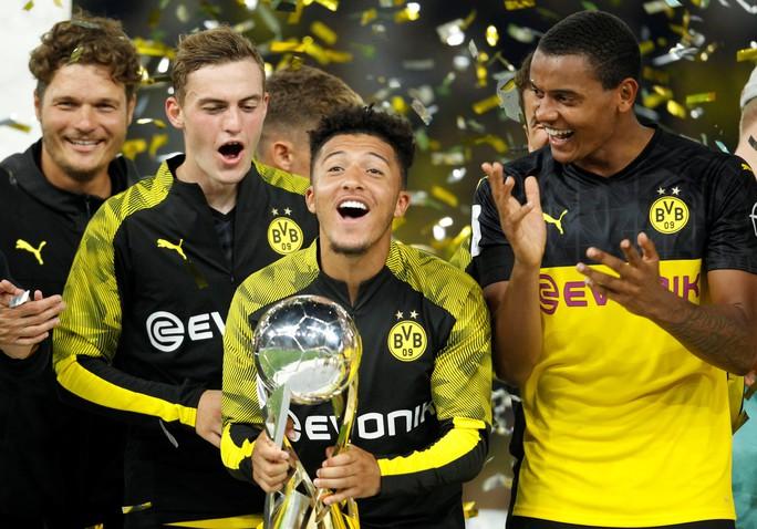 Dortmund sợ mất thần đồng Sancho vào tay Man United - Ảnh 2.