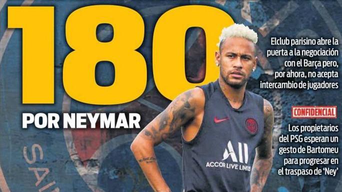 Neymar bị đồng đội tẩy chay ở lễ nhận Siêu cúp Pháp - Ảnh 7.