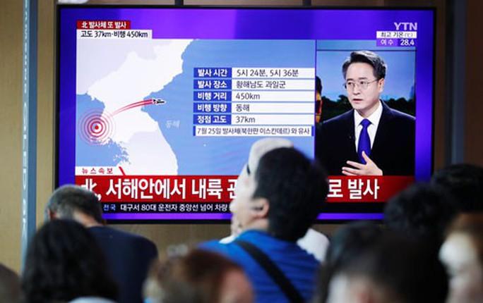 Triều Tiên gây áp lực với Mỹ, Hàn Quốc - Ảnh 1.