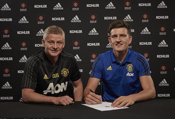 Maguire ký hợp đồng 80 triệu bảng, fan Man United báo bị cướp - Ảnh 1.