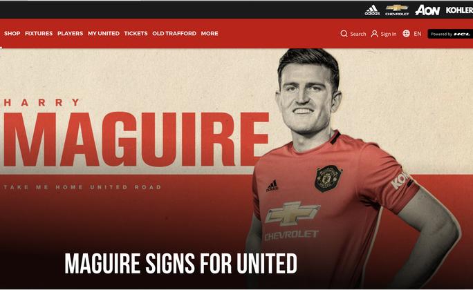 Maguire ký hợp đồng 80 triệu bảng, fan Man United báo bị cướp - Ảnh 2.