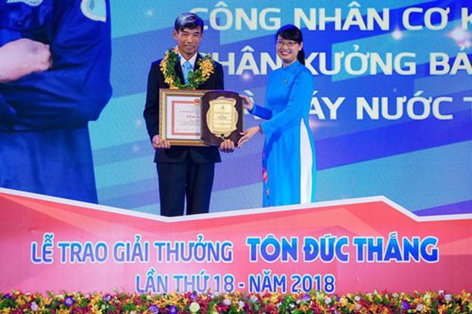 10 cá nhân đạt Giải thưởng Tôn Đức Thắng năm 2019 - Ảnh 1.