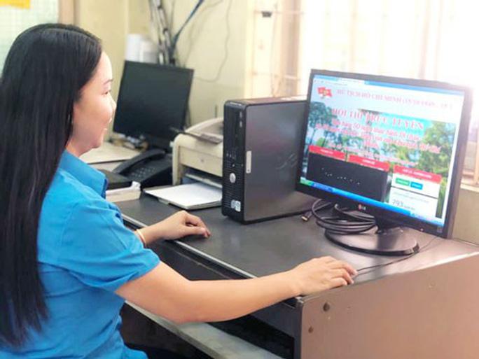 Hội thi trực tuyến Công đoàn Việt Nam 90 năm một chặng đường lịch sử - Ảnh 1.