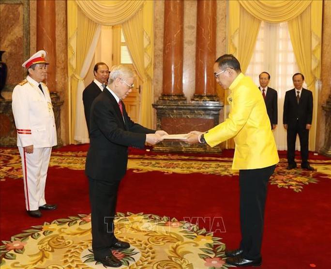 Tổng Bí thư, Chủ tịch nước Nguyễn Phú Trọng tiếp các Đại sứ trình Quốc thư - Ảnh 1.