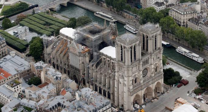 Dự án Trung Quốc thắng cuộc thi tái thiết Nhà thờ Đức Bà Paris - Ảnh 2.