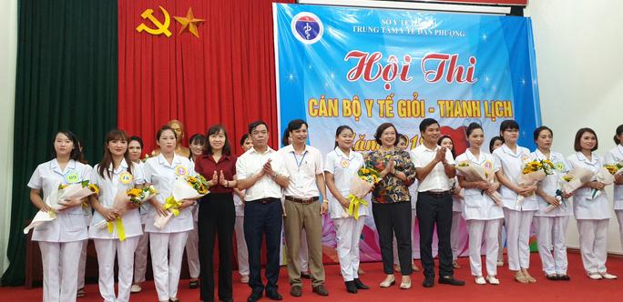 Hà Nội: Hội thi cán bộ y tế giỏi - thanh lịch - Ảnh 1.