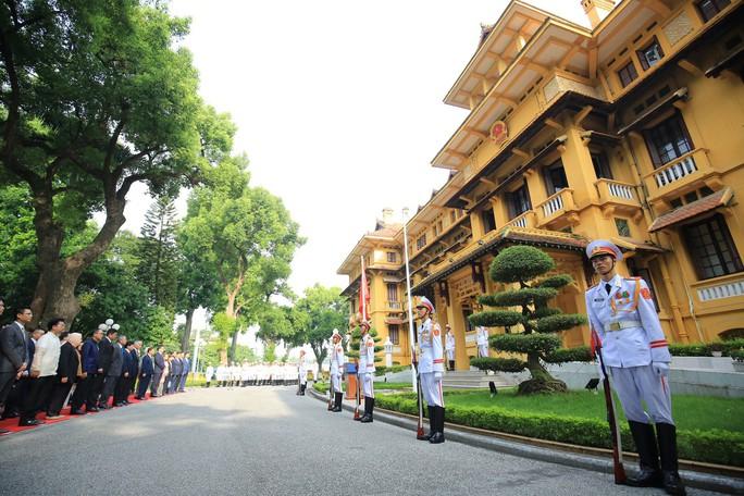 Lễ Thượng cờ ASEAN tại Hà Nội - Ảnh 1.