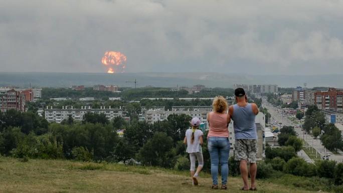 Nga: Thử tên lửa bị phát nổ, 6 người thương vong - Ảnh 1.