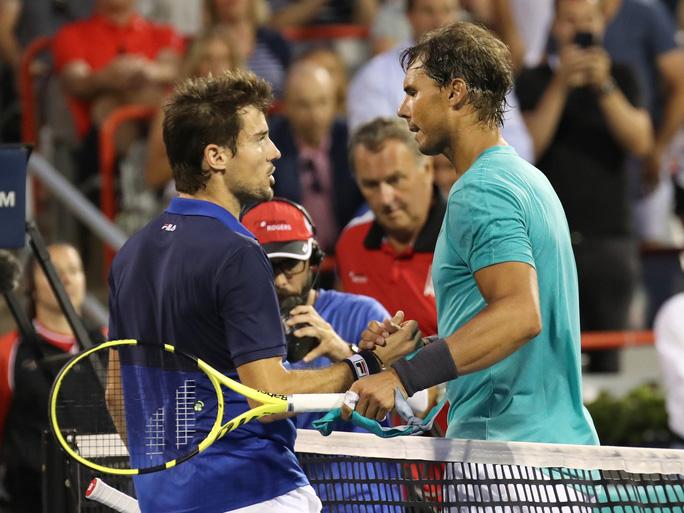 Nadal vượt mặt Federer khi nhẹ nhàng vào tứ kết Rogers Cup 2019 - Ảnh 5.
