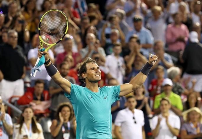 Nadal vượt mặt Federer khi nhẹ nhàng vào tứ kết Rogers Cup 2019 - Ảnh 6.