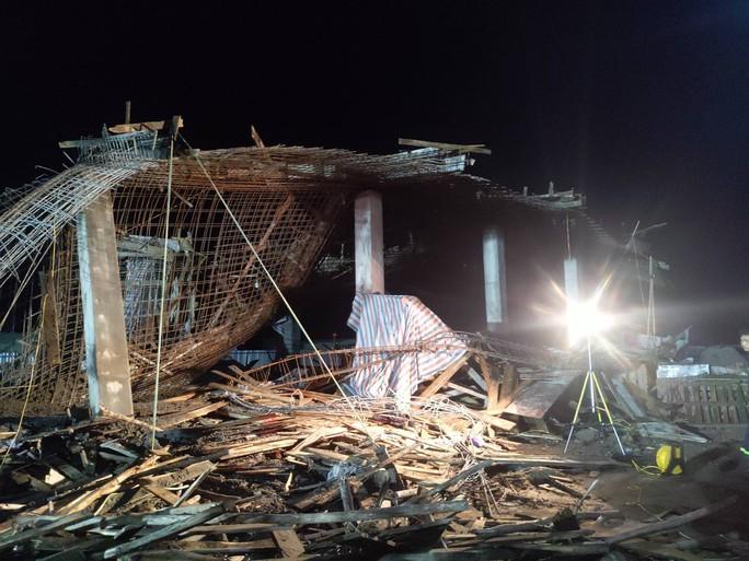 Vụ sập giàn giáo làm 8 người bị thương và mất tích: Công trình ở cây xăng xây dựng trái phép - Ảnh 3.