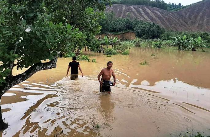 Nước sông Đồng Nai dâng cao, 1 người tử vong do rơi cống thoát nước - Ảnh 2.
