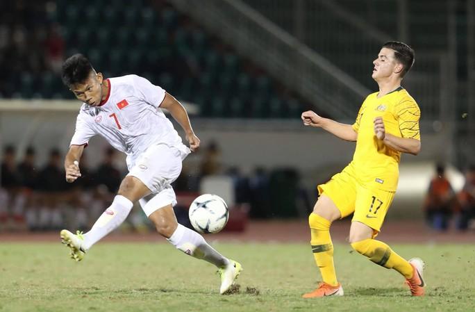 U18 Việt Nam thảm bại trước Úc - Ảnh 1.