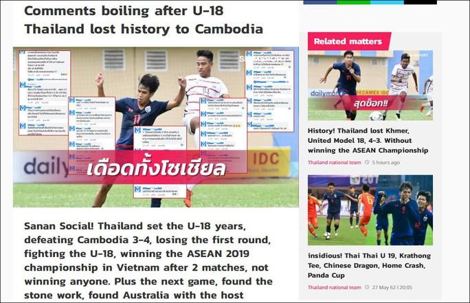 Báo châu Á châm biếm Thái Lan sau trận thua trước Campuchia - Ảnh 2.