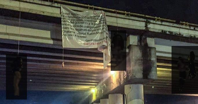 Băng đảng ma túy thanh toán nhau, 19 thi thể bị treo trên cầu  - Ảnh 1.