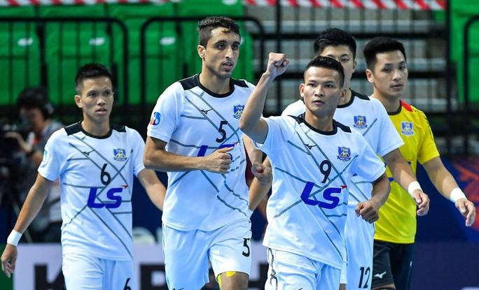 Thái Sơn Nam tiếp tục thắng đậm tại Giải Futsal CLB châu Á 2019 - Ảnh 3.