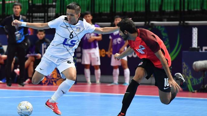 Thái Sơn Nam tiếp tục thắng đậm tại Giải Futsal CLB châu Á 2019 - Ảnh 1.