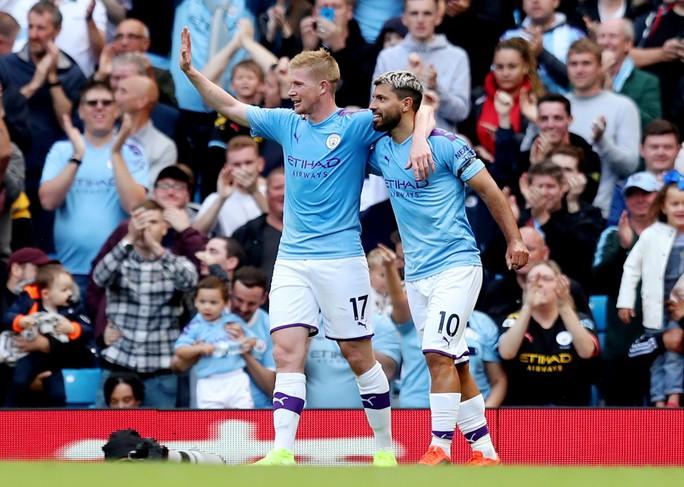 Man City soán ngôi... 2 giờ, Liverpool về đỉnh bảng ngoạn mục - Ảnh 2.