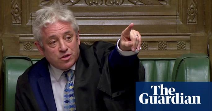 Chủ tịch Hạ viện Anh từ chức giữa tâm bão Brexit - Ảnh 1.