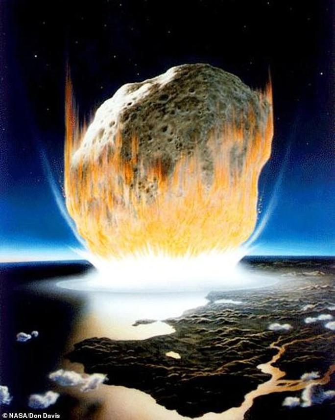Khoáng vật lạ hé lộ ngày trái đất hóa địa ngục vì siêu tiểu hành tinh - Ảnh 3.