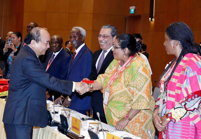 Tăng cường hợp tác với các nước Trung Đông - châu Phi - Ảnh 1.