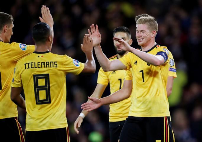 De Bruyne lập hat-trick kiến tạo, Bỉ đè bẹp Scotland vòng loại Euro - Ảnh 6.