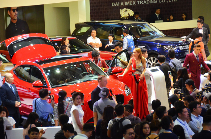 15 hãng ôtô châu Âu, Nhật... tham dự triển lãm ôtô lớn nhất năm tại Việt Nam - Ảnh 1.