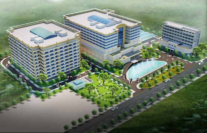 Bệnh viện ngàn tỉ cho người dân thu nhập thấp vùng biên - Ảnh 2.