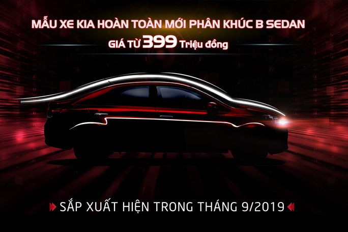 Kia Việt Nam chính thức nhận đặt hàng mẫu xe hoàn toàn mới phân khúc B-Sedan giá chỉ từ 399 triệu đồng - Ảnh 1.