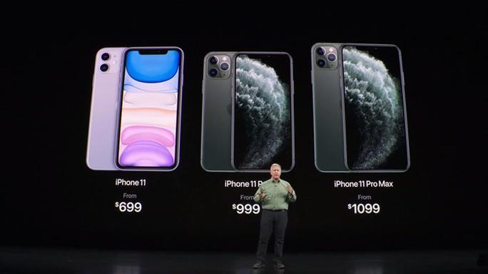 Apple ra mắt iPhone 11 / 11 Pro / 11 Pro Max, giá từ 699 USD và mở bán từ 20-9 - Ảnh 1.