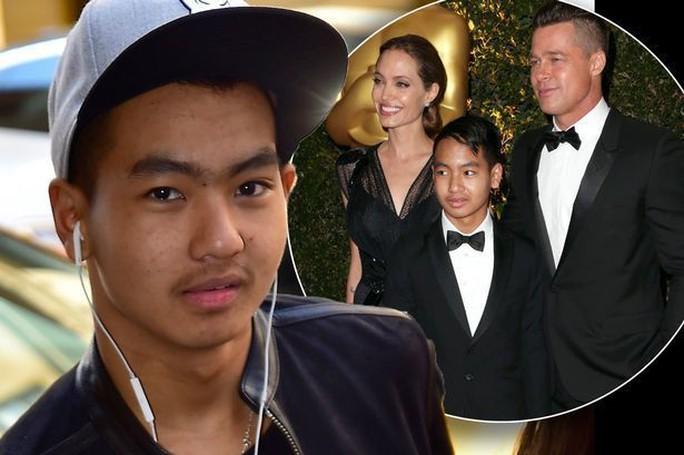 Con cả của Angelina Jolie - Brad Pitt lần đầu nói về cha nuôi - Ảnh 1.