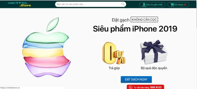 Nhà bán lẻ rục rịch cho khách hàng đặt hàng iPhone 11  - Ảnh 3.