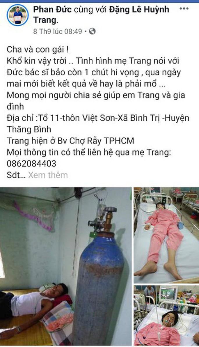 Bệnh viện trả về, cô gái trẻ ở Quảng Nam bất ngờ hồi tỉnh - Ảnh 2.