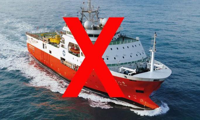 Yêu cầu Trung Quốc chấm dứt ngay vi phạm nghiêm trọng, rút tàu Hải Dương 8 khỏi vùng biển của Việt Nam - Ảnh 1.
