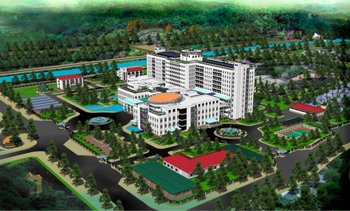 Miền Tây sắp có bệnh viện 1.730 tỉ đồng, có nhà nghỉ cho thân nhân người bệnh - Ảnh 1.