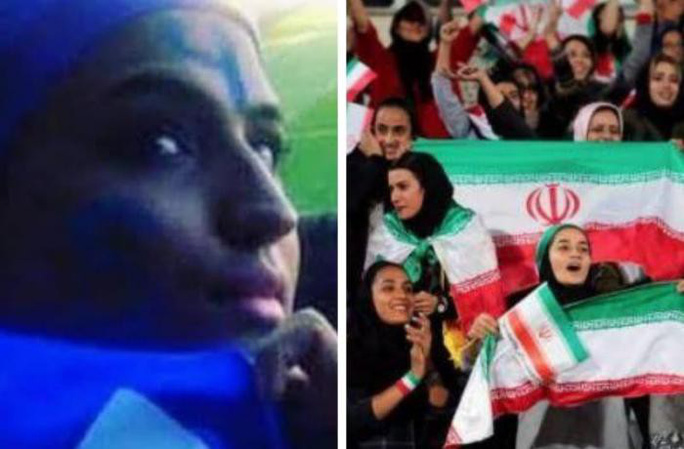 Nữ CĐV Iran tự thiêu vì quyền được xem bóng đá - Ảnh 2.