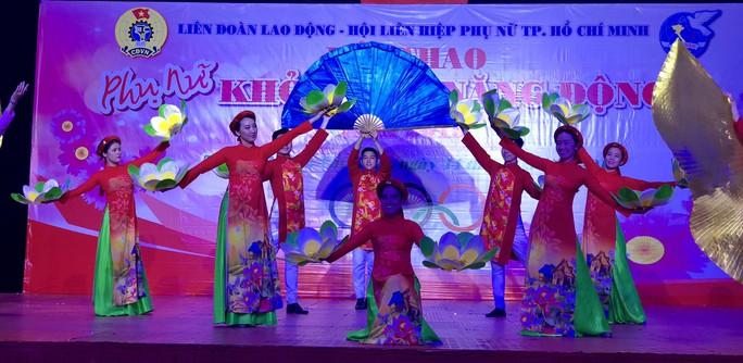 2.000 vận động viên tham gia Hội thao Phụ nữ khỏe đẹp, năng động - Ảnh 3.
