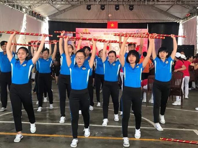 2.000 vận động viên tham gia Hội thao Phụ nữ khỏe đẹp, năng động - Ảnh 1.