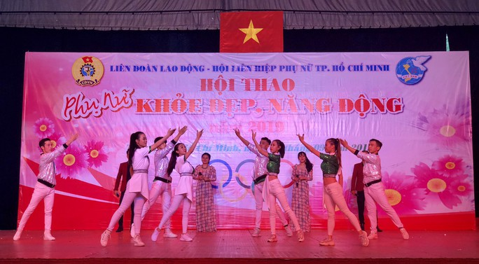 2.000 vận động viên tham gia Hội thao Phụ nữ khỏe đẹp, năng động - Ảnh 4.